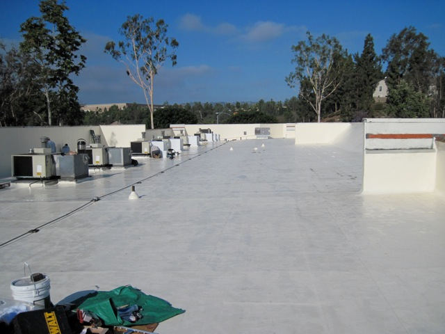 single ply roofing single ply fully adhered roofing membrane southern calif