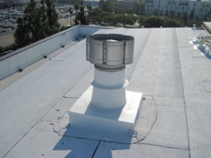 Resealed roof vent