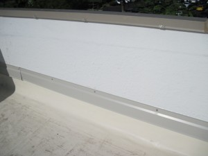 Single ply counter flashing