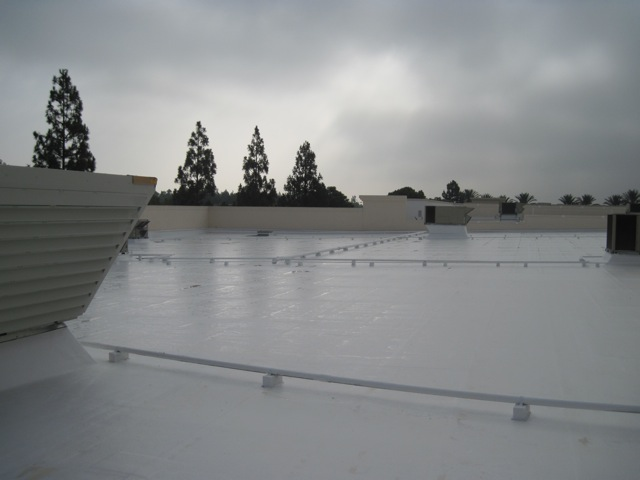 Asphalt Emulsion Roof System Commercial Roofing Management