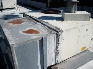 leaking ductwork