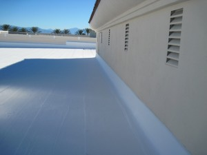 Roof Spray Protection